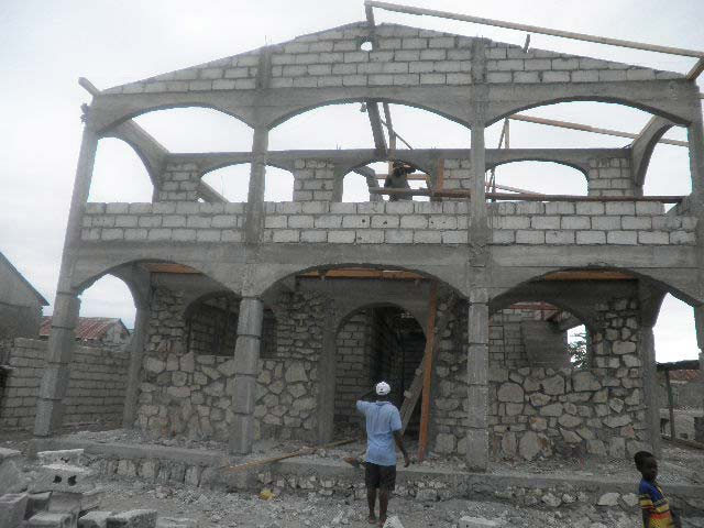 Construction at Institution Mahanaim High School