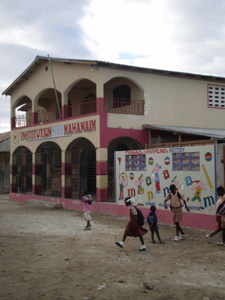 Institution Mahanaim High School in Grande Saline, Haiti
