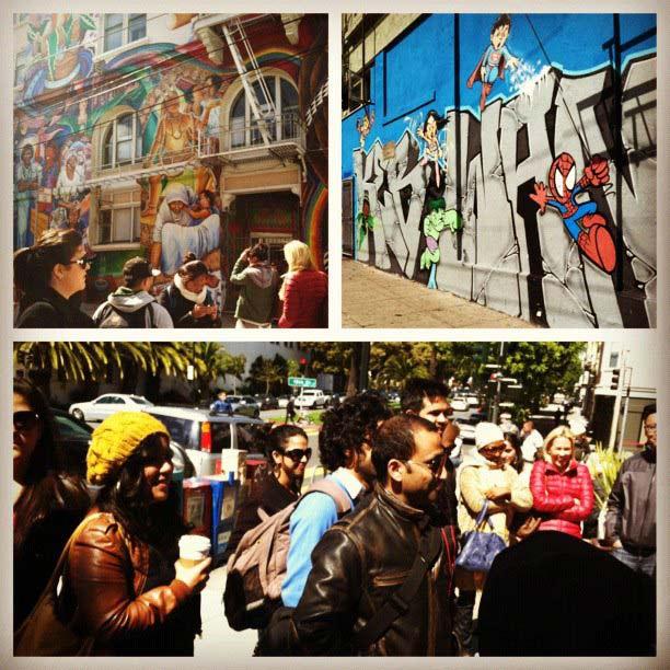 Snapshots of Go Inspire Go's photo flash mob walk