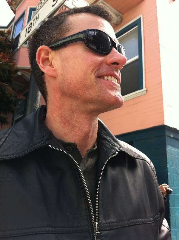 Dr. Ron Holt at Go Inspire Go's photo flash mob walk.
