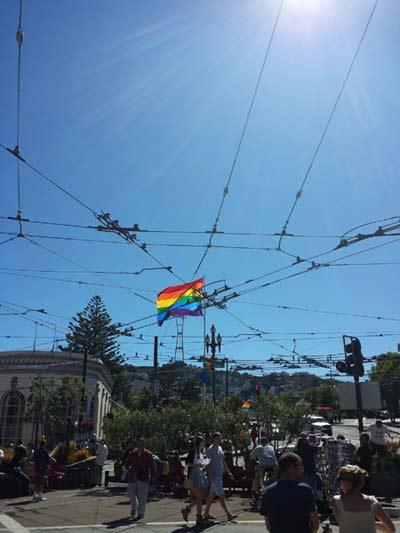 Castro District in San Francisco