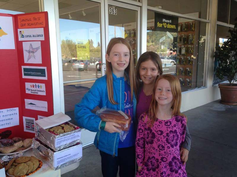 Day of Giving 2015 bake sale