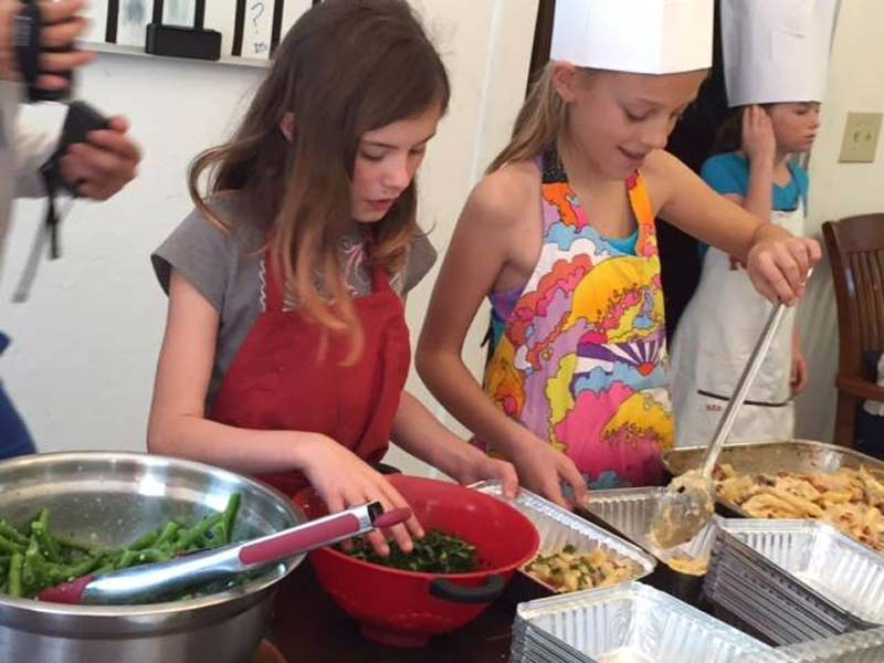 Day of Giving 2015 young chefs