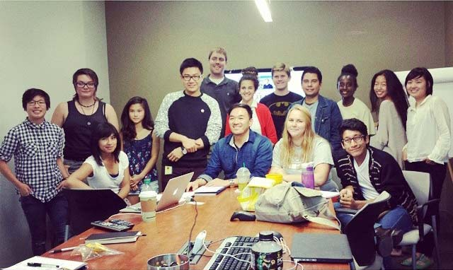 Reel Voices youth in 2014