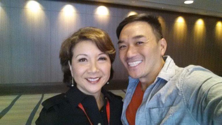 Lori Matsukawa and Toan Lam