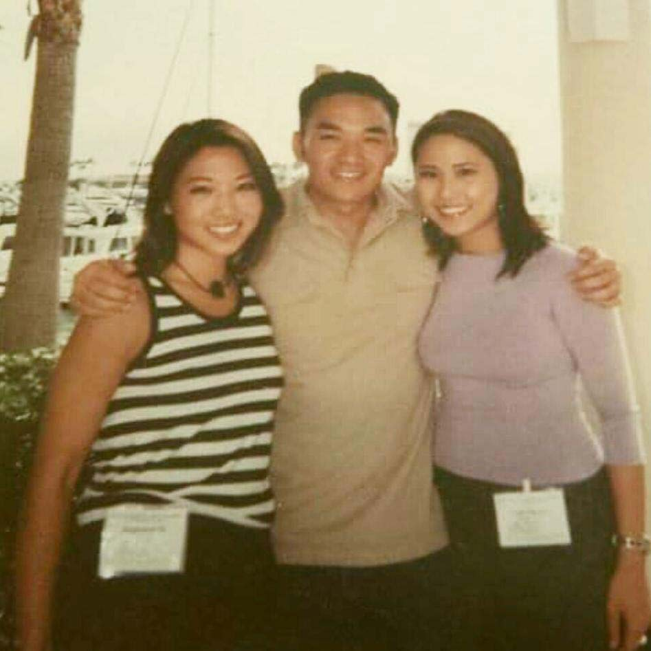 Stephanie Sy, Toan Lam and Vicky Nguyen at Unity '99