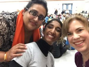 Atashi, Kala and Shannon of Community Heroes