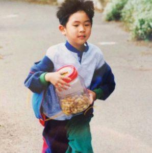 Steven Ng child photo