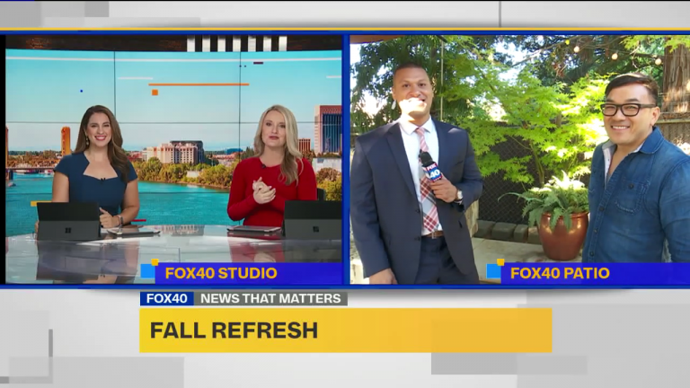 Fox 40 Sacramento fall refresh with Toan Lam