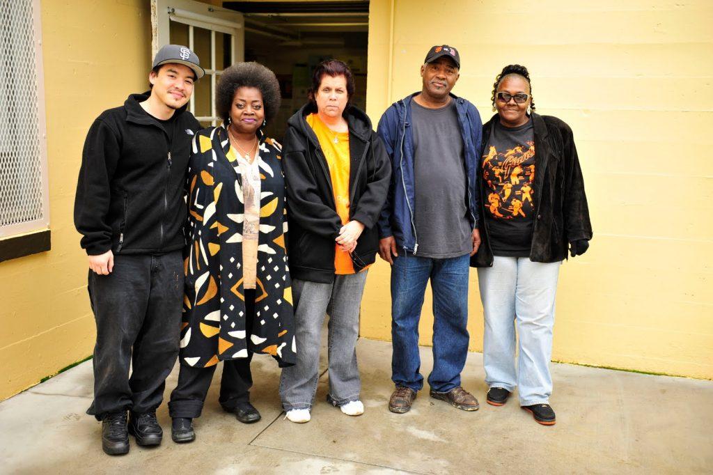 Herman Travis and a team of volunteers.