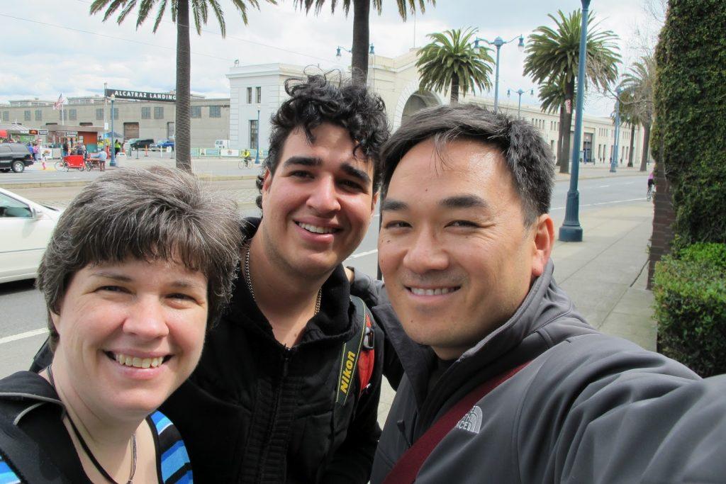 Kat Sloma, Erin Sitt and Toan Lam
