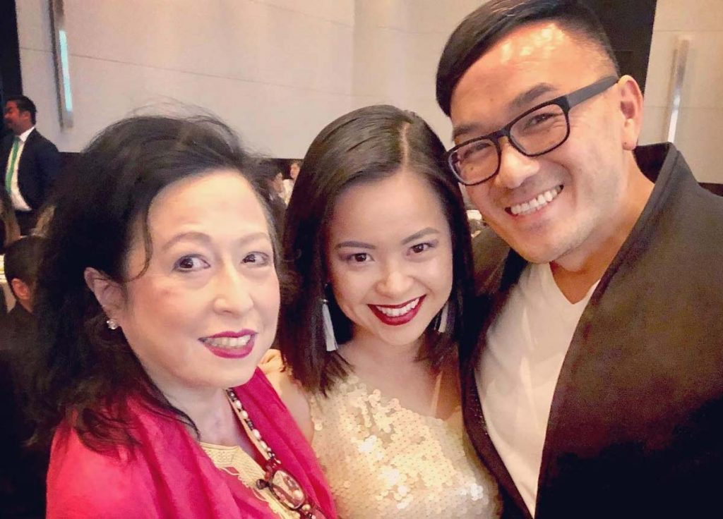 Maria Mercader, Chinh Doan and Toan Lam at the AAJA National Convention.
