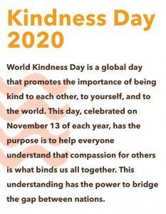 World Kindness Day 2020 info box